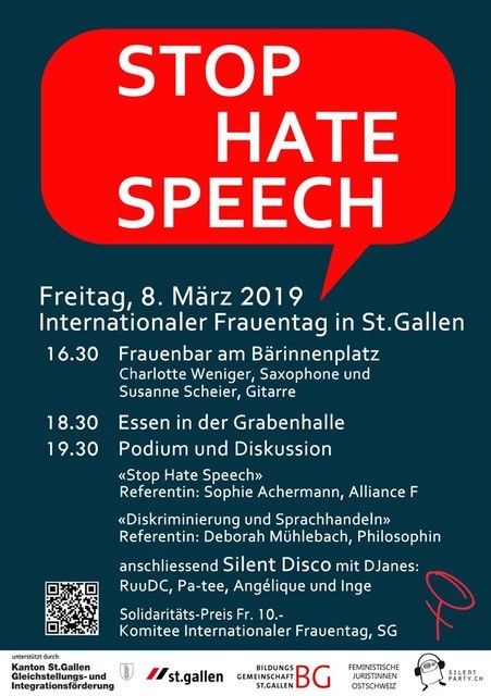 Internationaler Frauentag in St. Gallen